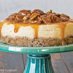Instant Pot Caramel Cheesecake