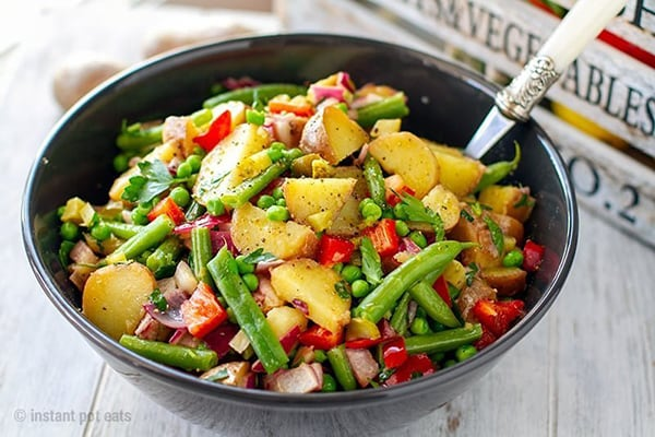 Instant Pot Potato Salad With Tangy Vinaigrette (Vegan, Gluten-Free)