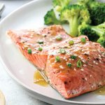 Instant Pot Soy-Ginger Salmon With Broccoli
