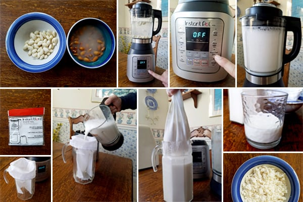 Instant Pot Blender Nut Milk Test