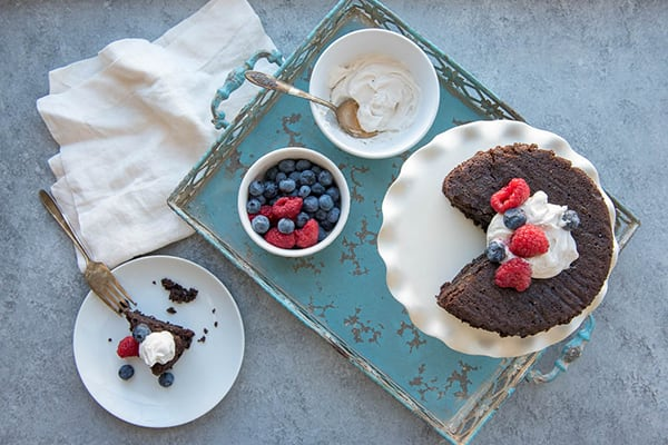 Instant Pot Paleo Chocolate Cake