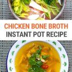 Chicken Bone Broth (Instant Pot Recipe)
