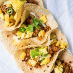 Instant Pot BBQ Chicken Tacos