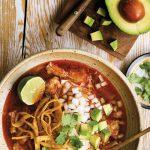 Instant Pot Chicken Tortilla Soup (guest recipe from The Essential Mexican Instant Pot Cookbook by Deborah Schneider)