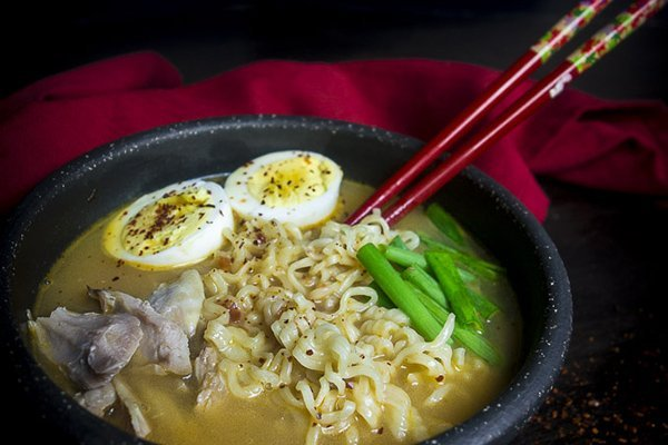 Instant Pot Ramen with Turkey
