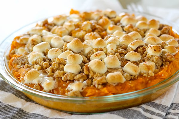Instant Pot Sweet Potato Casserole