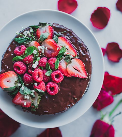 Instant Pot Vegan Chocolate Cake