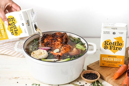 Kettle & Fire Chicken Bone Broth