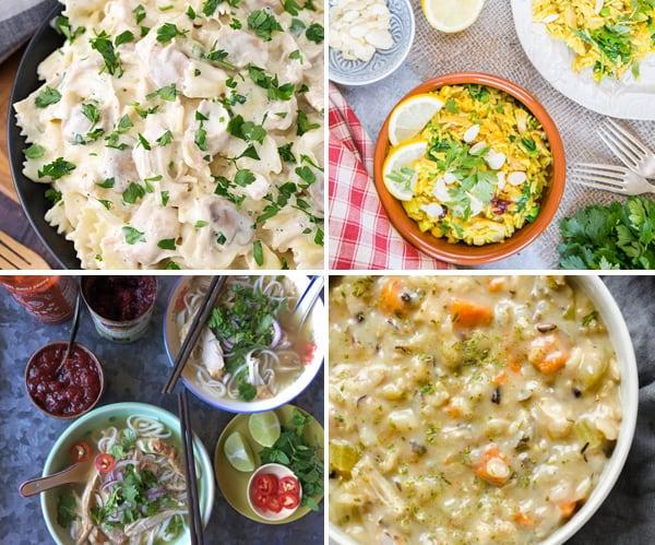 Leftover Turkey Instant Pot Recipes