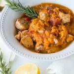 Instant Pot Sweet Potatoes & Chicken Stew (Kid Friendly, Gluten-free, Dairy-free*)