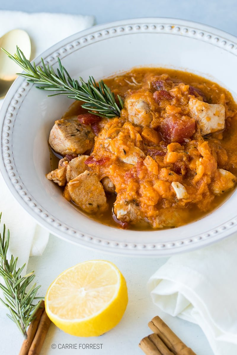 Instant Pot Chicken & Sweet Potatoes