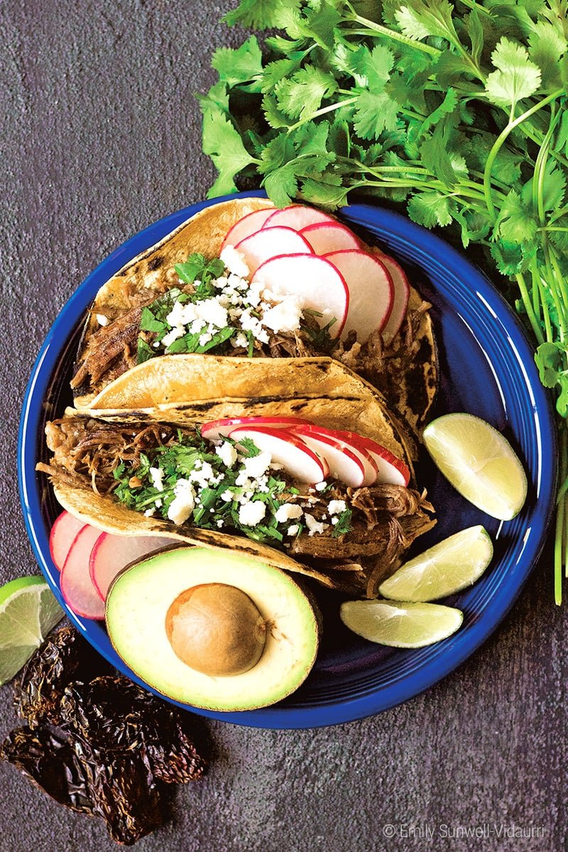 Instant Pot Beef Tacos Recipe (With Shredded Meat)