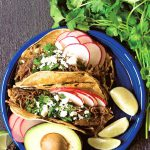 Instant Pot Shredded Beef Tacos (Mexican Stye) | This pressure cooker recipe is a guest dish from Amazing Favourites With Your Instant Pot cookbook | #instantpot #tacos #pressurecooker #beef