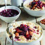 Instant Pot Steel Cut Oats With Cranberries & Almonds