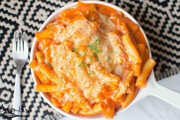 Instant Pot Dump Recipes - Creamy Ziti