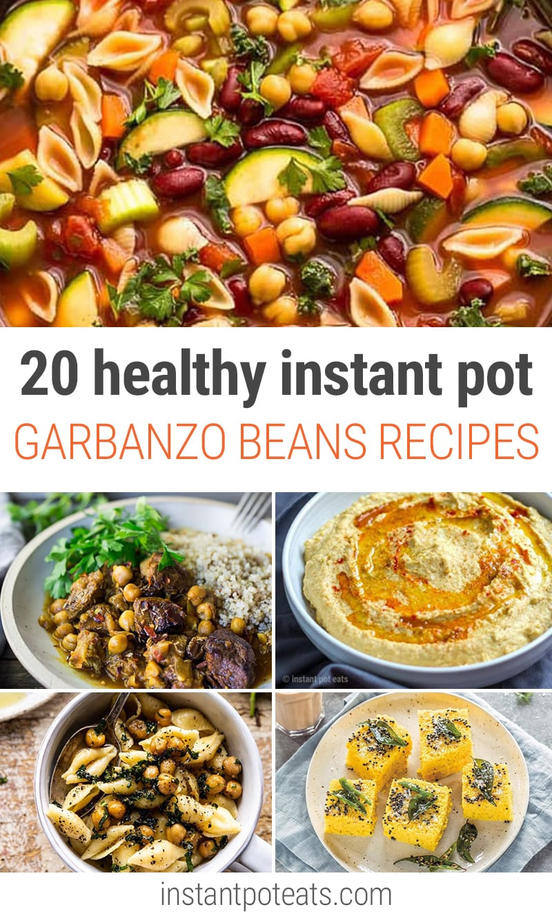 instant pot garbanzo beans recipes | #pressurecooking #chickpeas #garbanzobeans #stew #curry #healthy #vegan