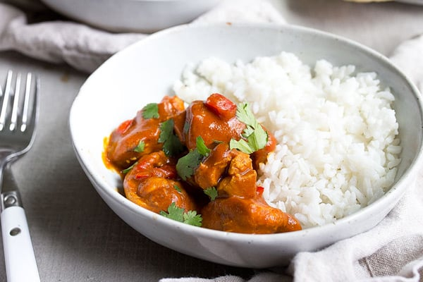 Instant Pot mini butter chicken