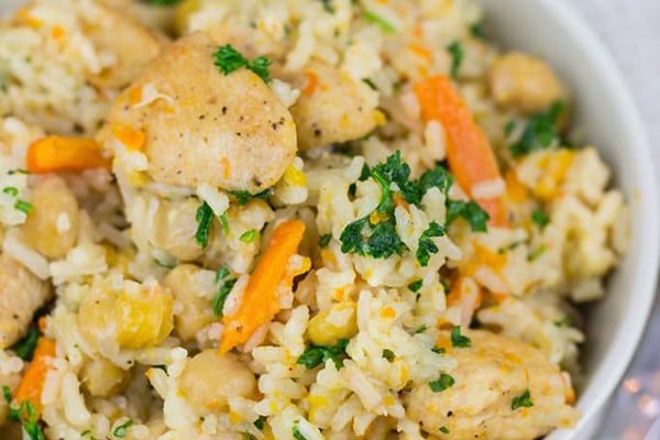 instant pot rice pilaf chicken vegetables