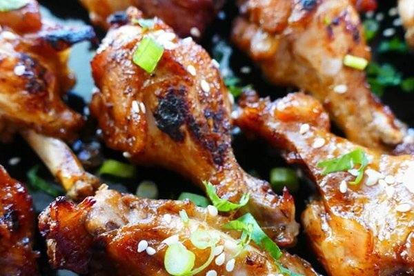 Instant Pot Teriyaki Wings