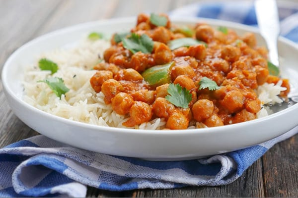 instant pot vegan butter chickpea