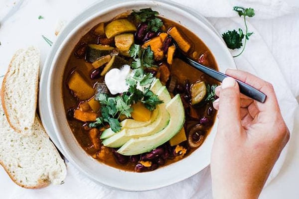 15 Super Easy Instant Pot Dump Recipes Vegetarian Chili