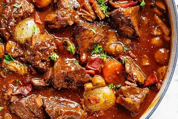 Julia Child Beef Bourguignon in the Instant Pot