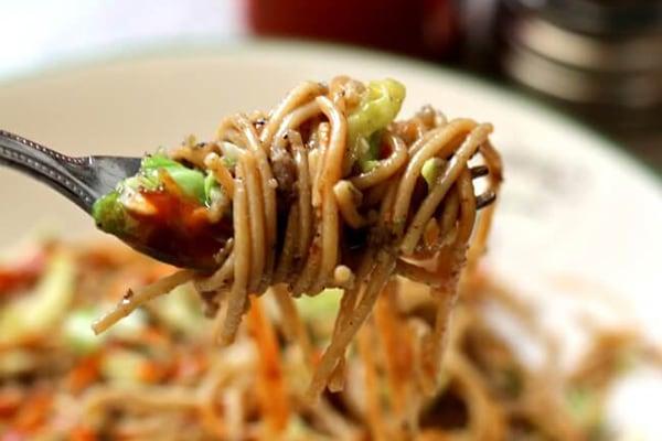 Instant Pot Rachel Ray Cabbage Pepper Beef Noodles