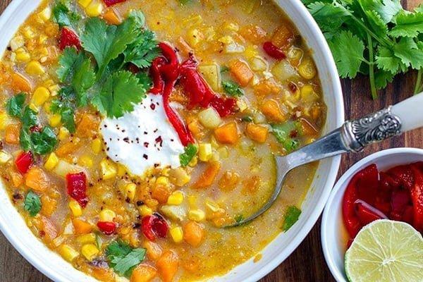 Yotam Ottolenghi Corn Mexican Soup Instant Pot