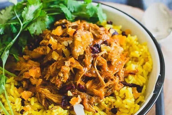 Coconut Turmeric Pork & Rice
