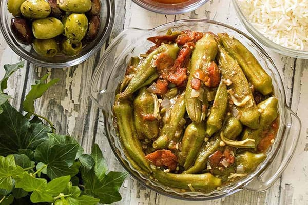 INSTANT POT RECIPES WITH OKRA