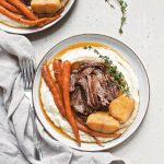 Instant Pot Balsamic Dijon Pot Roast