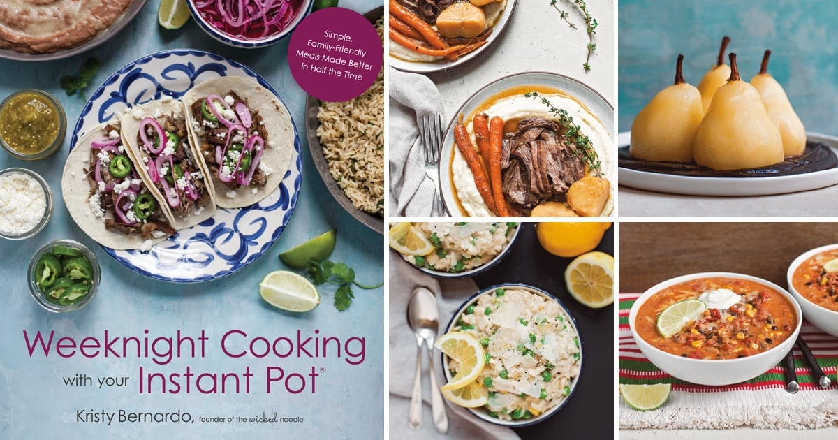 Cookbook Review Weeknight Cooking with Your Instant Pot