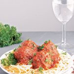 instant pot meatballs and spaghetti | #pressurecooker #spaghetti #meatballs #italianfood #pasta #glutenfree #eggfree