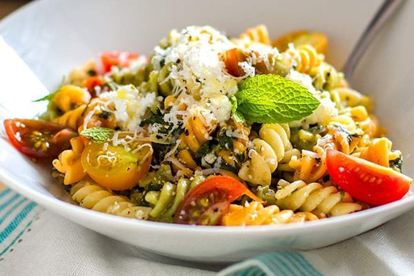 Weight Watchers Pasta With Spinach & Ricotta