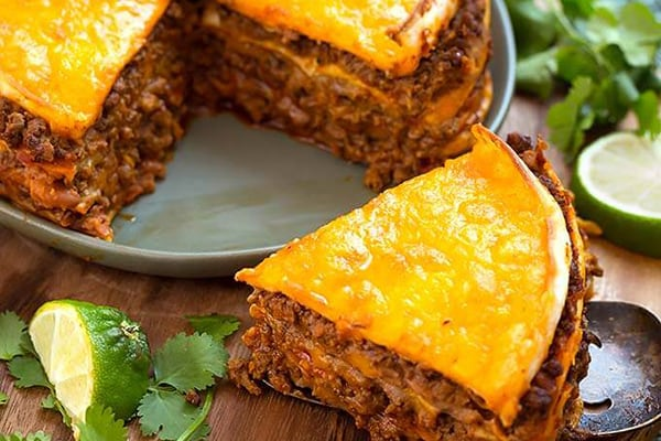 20+ Instant Pot Mexican Recipes - Taco Pie