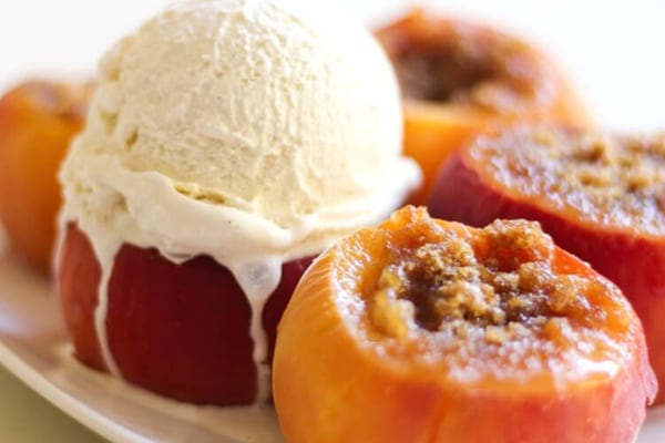 35+ Summer Friendly Instant Pot Recipes Stuffed Peaches