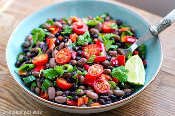 35+ Summer Friendly Instant Pot Recipes Mexican Bean Salad