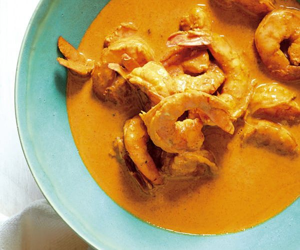 Instant Pot Shrimp Curry Goan-Style