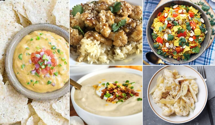 Instant Pot Cauliflower Recipes
