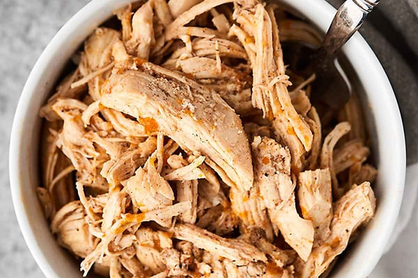 Shredded Chicken (From Frozen)