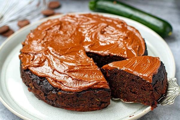INSTANT POT CHOCOLATE ZUCCHINI CAKE