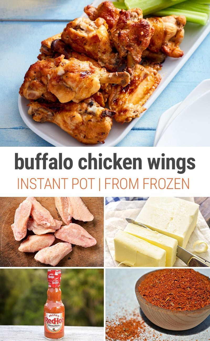 Instant Pot Buffalo Chicken Wings From Frozen