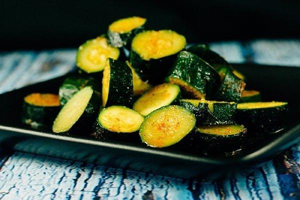 instant pot cajun zucchini