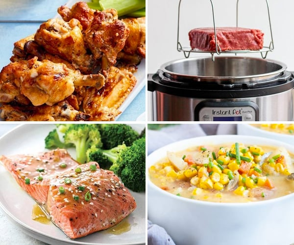 Instant Pot frozen foods