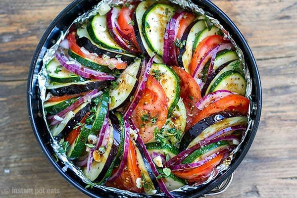 instant pot ratatouille