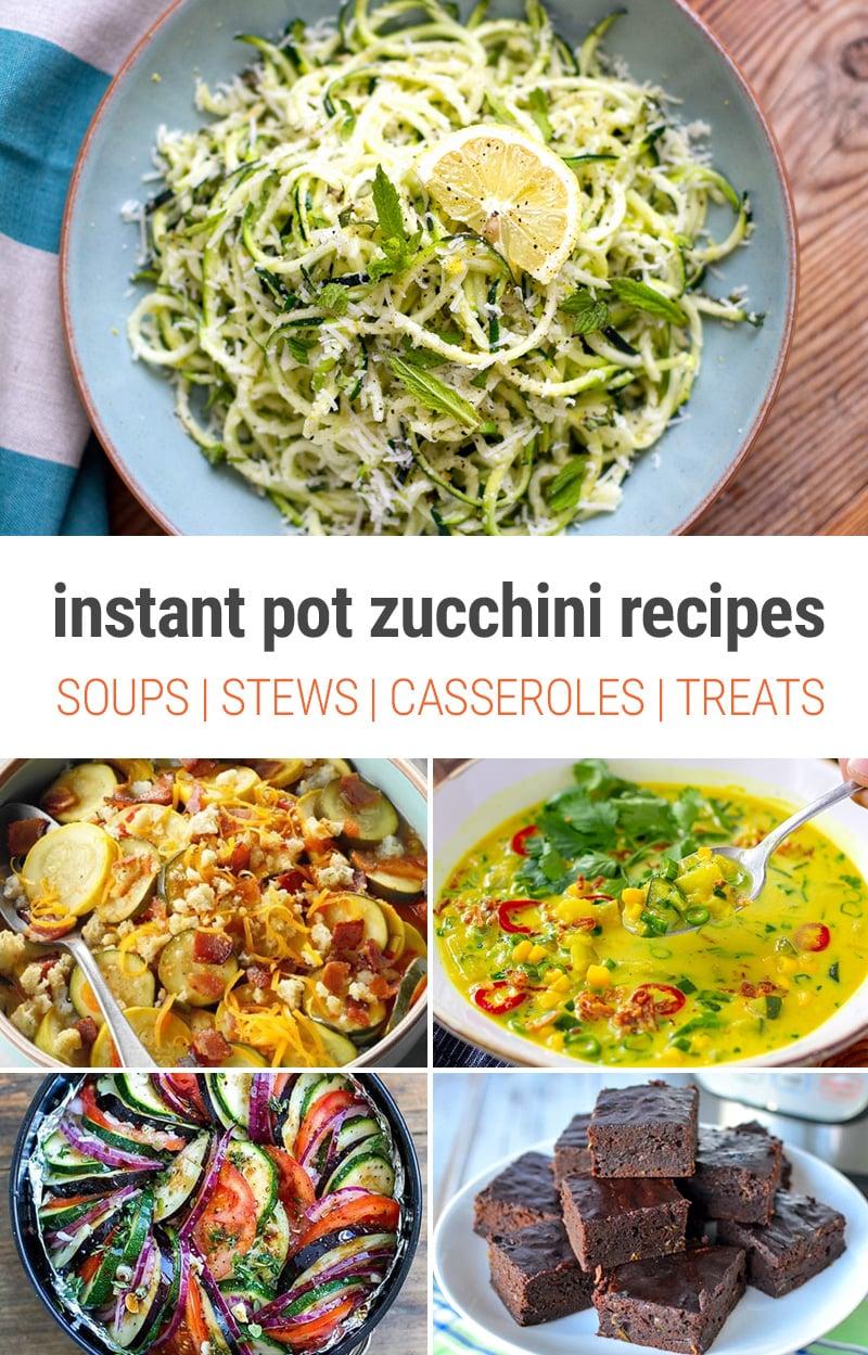 Best Instant Pot Zucchini Recipes