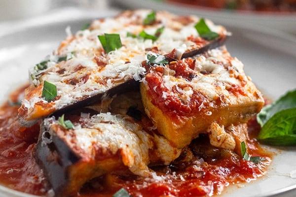instant pot eggplant parmesan