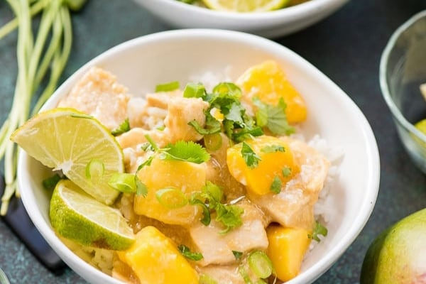 instant pot mango chicken