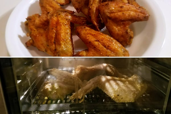 Air Fryer Chicken Wings With Instant Vortex