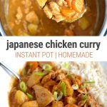 Instant Pot Japanese Curry With Chicken